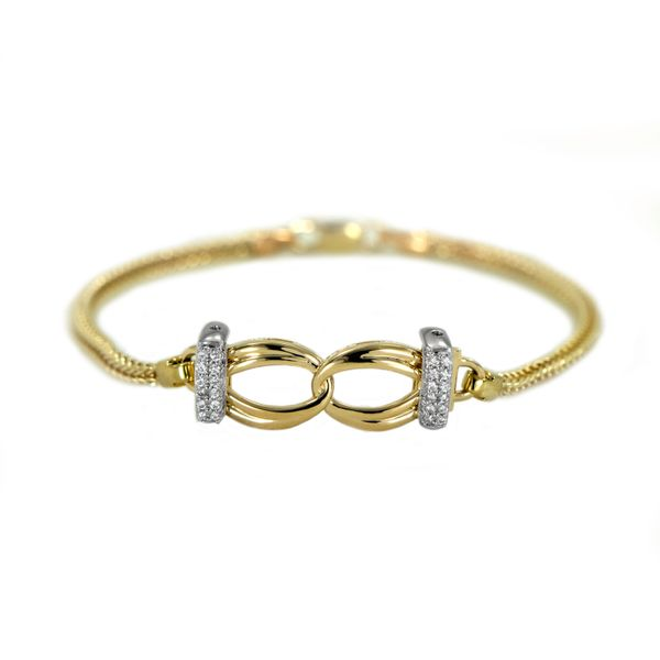 Jabel Add-A-Section Diamond Starter Bracelet in Yellow Gold J. Schrecker Jewelry Hopkinsville, KY
