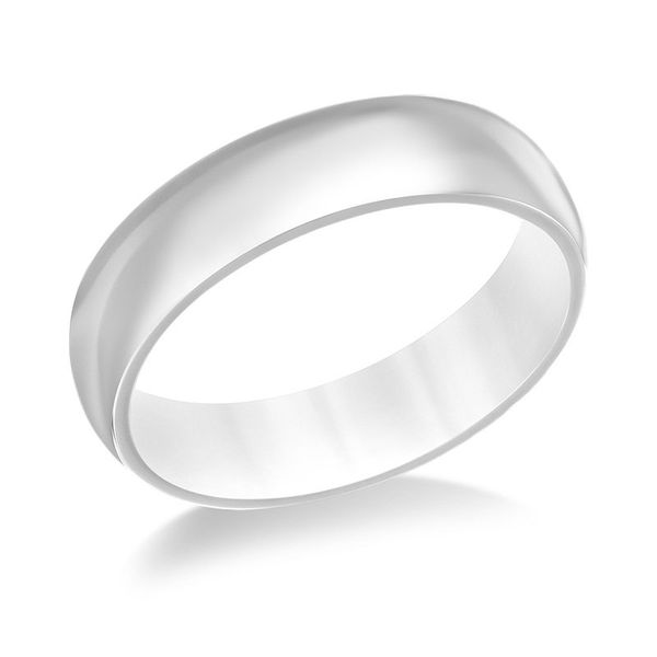 6 Millimeter Polished Finish Titanium Wedding Band J. Schrecker Jewelry Hopkinsville, KY