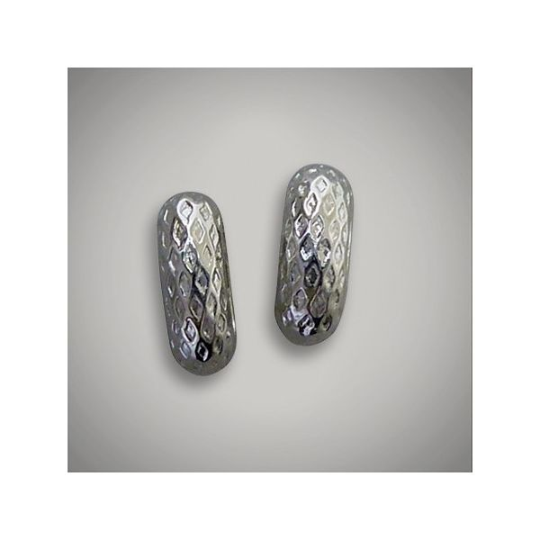 Coloures Sterling Silver Diamond Pattern Bead for Mesh Bracelet J. Schrecker Jewelry Hopkinsville, KY