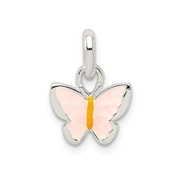 Sterling Silver Butterfly Charm with Enamel Detail J. Schrecker Jewelry Hopkinsville, KY