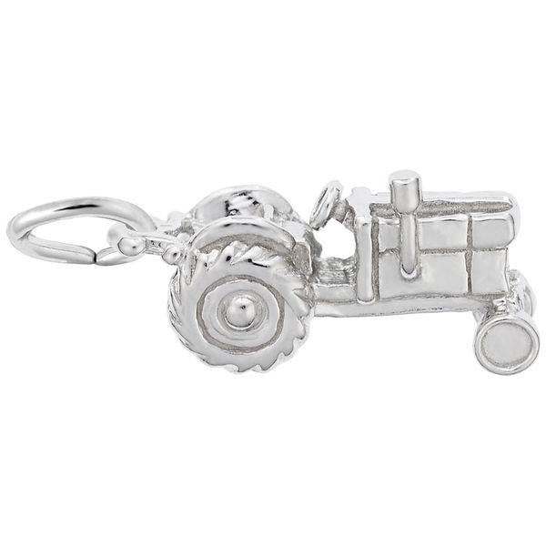 Sterling Silver Tractor Charm J. Schrecker Jewelry Hopkinsville, KY