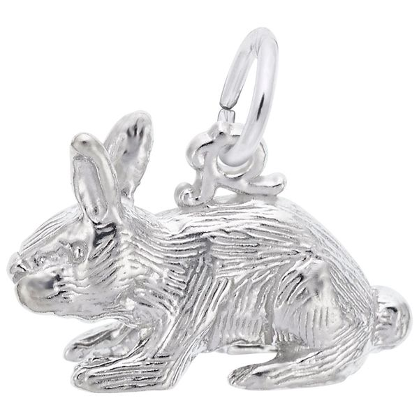 Sterling Silver Bunny Rabbit Charm J. Schrecker Jewelry Hopkinsville, KY