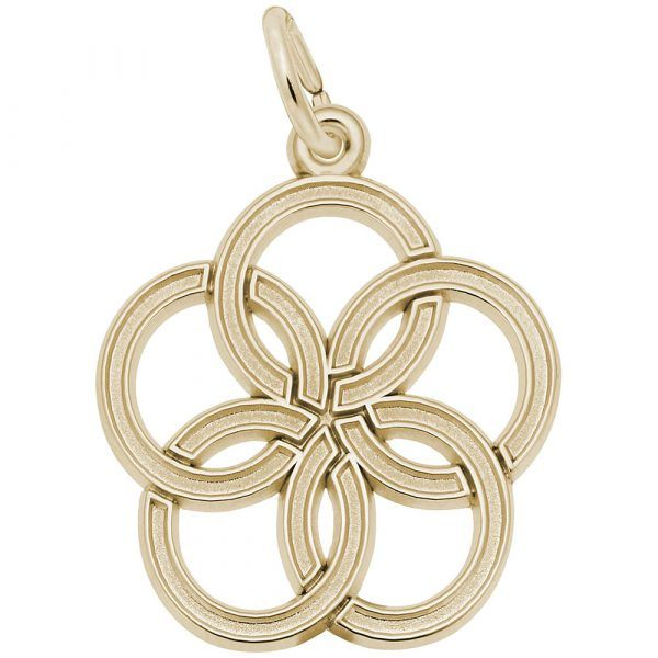 Gold Plated Sterling Silver Twelve Days of Christmas