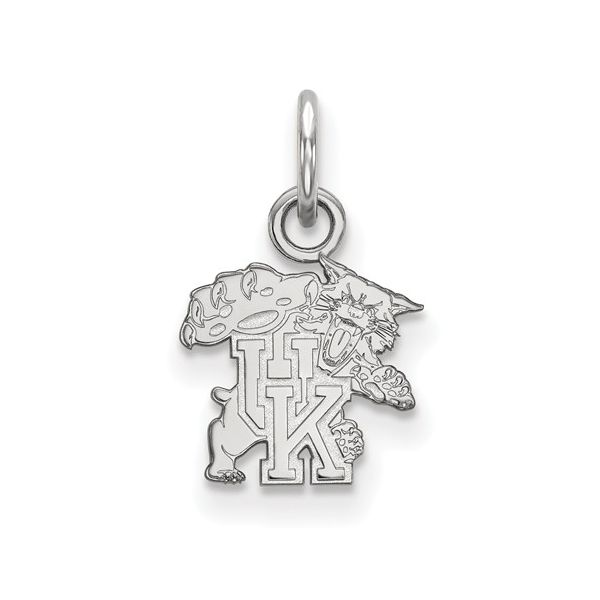 University of Kentucky UK Logo Charm in Sterling Silver J. Schrecker Jewelry Hopkinsville, KY