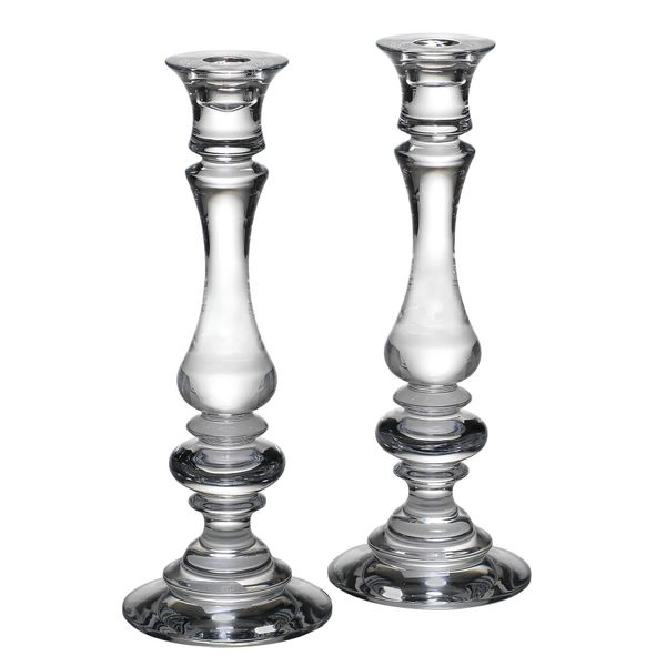 Pair of Reed & Barton 11 Inch Weston Crystal Candlesticks J. Schrecker Jewelry Hopkinsville, KY