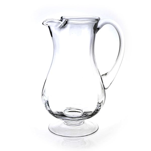 54 Ounce Footed Crystal Pitcher J. Schrecker Jewelry Hopkinsville, KY