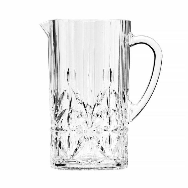 Clear Acrylic Royal Cut Pitcher with Lid. 2.5 Quart J. Schrecker Jewelry Hopkinsville, KY