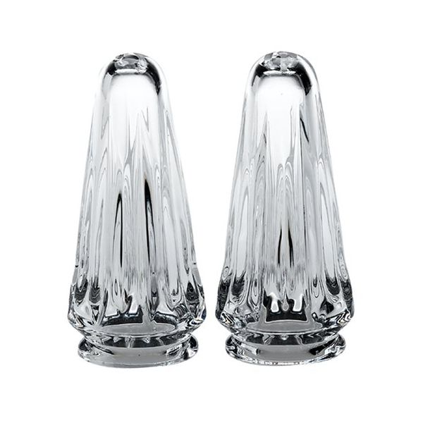 Reed & Barton Soho Design Crystal Salt and Pepper Set J. Schrecker Jewelry Hopkinsville, KY