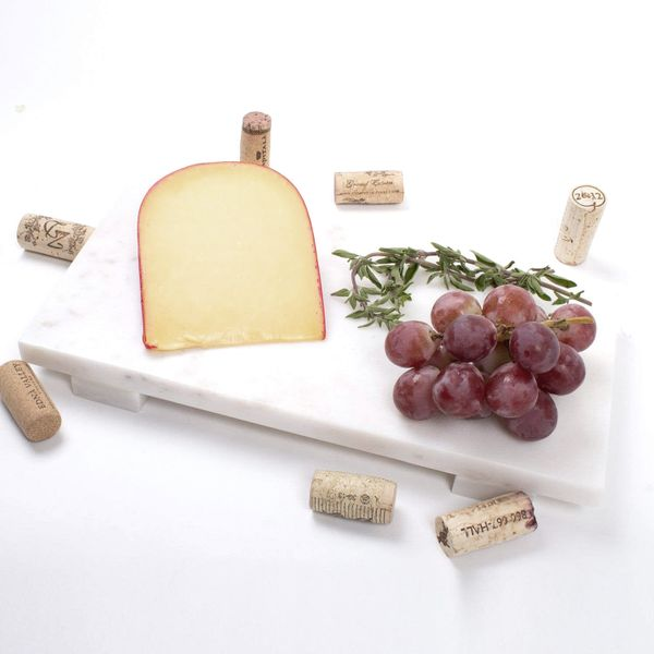 Small White Rectangular Marble Cheese Board J. Schrecker Jewelry Hopkinsville, KY