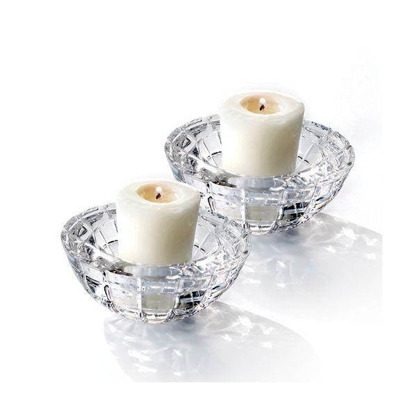 Set of Two Crystal Votive Candle Holders J. Schrecker Jewelry Hopkinsville, KY
