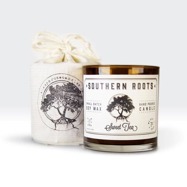 Southern Roots Sweet Tea Hand Poured Small Batch Soy Wax Candle J. Schrecker Jewelry Hopkinsville, KY