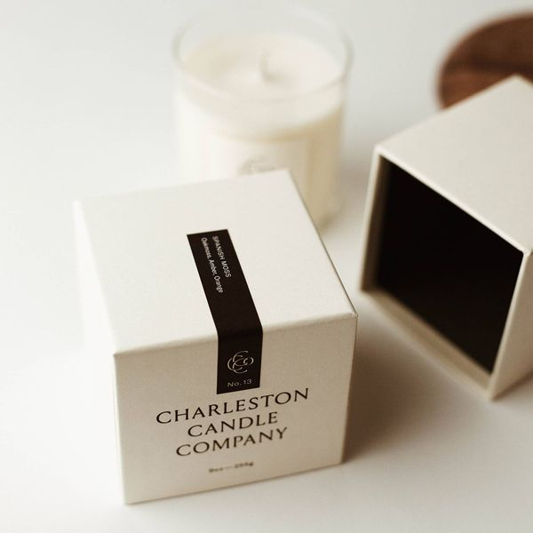 No. 12 Southern Magnolia 9 Ounce Small Batch Hand Poured  Soy Wax Candle by Charleston Candle Company Image 3 J. Schrecker Jewelry Hopkinsville, KY