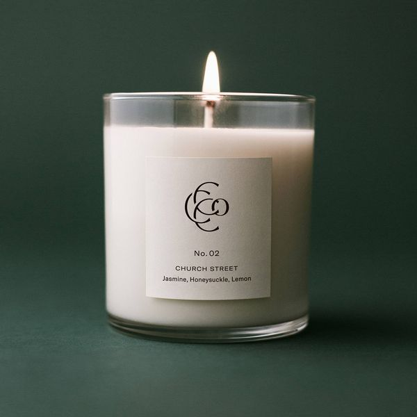 No. 2 Church Street Small Batch Hand Poured Soy Wax Candle by Charleston Candle Company Image 2 J. Schrecker Jewelry Hopkinsville, KY