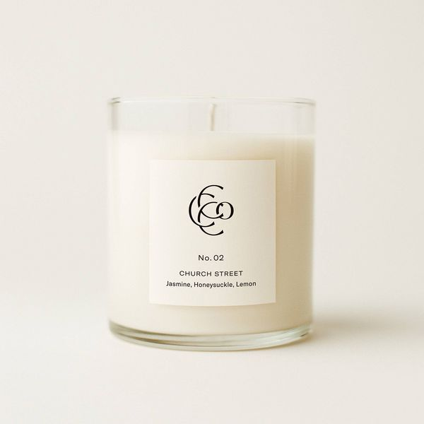No. 2 Church Street Small Batch Hand Poured Soy Wax Candle by Charleston Candle Company J. Schrecker Jewelry Hopkinsville, KY