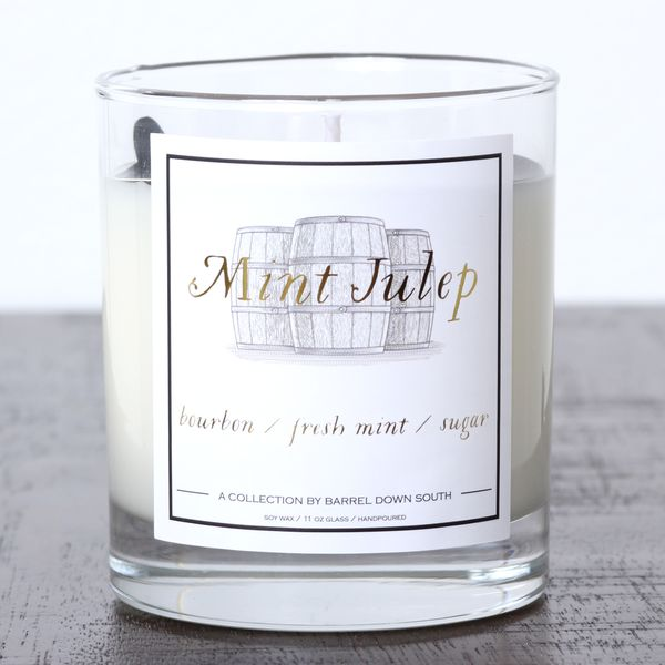 Mint Julep Hand Poured Soy Wax Candle J. Schrecker Jewelry Hopkinsville, KY