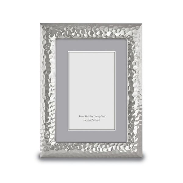Hammered Finish Picture Frame, 4 by 6 Inch Photo J. Schrecker Jewelry Hopkinsville, KY