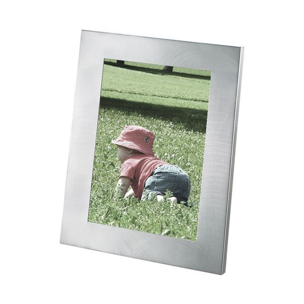 Frame with Brushed Satin Aluminum Finish for a 4 x 6 Inch Photo J. Schrecker Jewelry Hopkinsville, KY