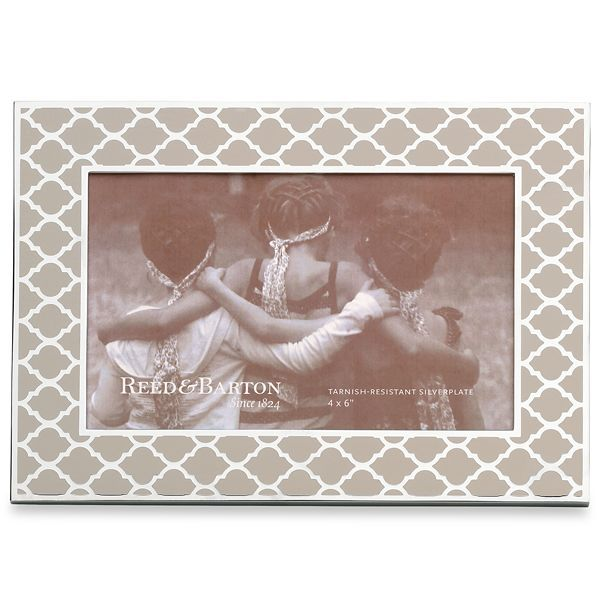 Reed & Barton Natural Instinct Kasbah Chai Enameled Frame for 4 x 6 Inch Photo J. Schrecker Jewelry Hopkinsville, KY