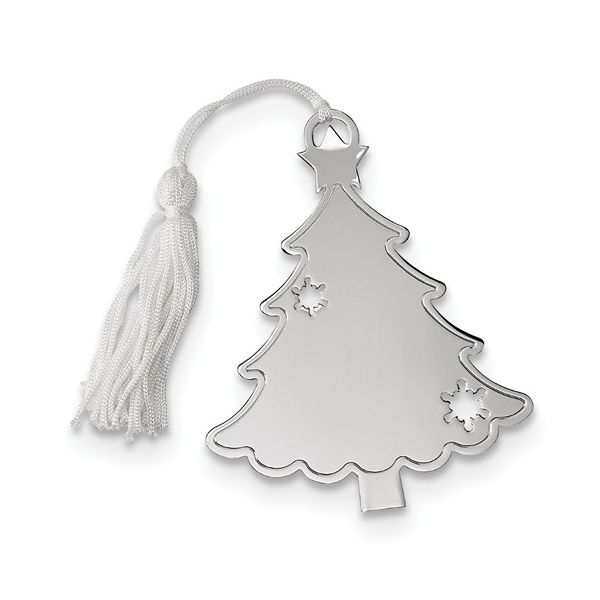 Engravable Christmas Tree Ornament J. Schrecker Jewelry Hopkinsville, KY