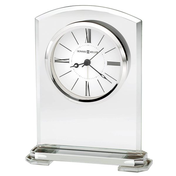 Howard Miller Corsica Glass Table Clock with Alarm J. Schrecker Jewelry Hopkinsville, KY