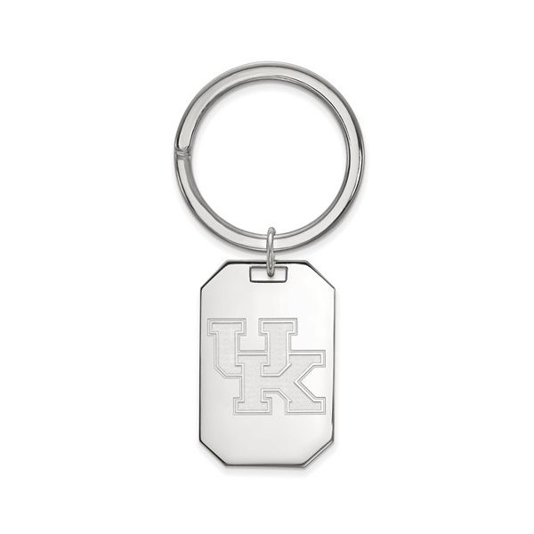 Sterling Silver University of Kentucky UK Key Ring J. Schrecker Jewelry Hopkinsville, KY