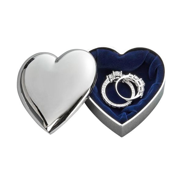 Heart Shaped Jewelry Box Image 2 J. Schrecker Jewelry Hopkinsville, KY