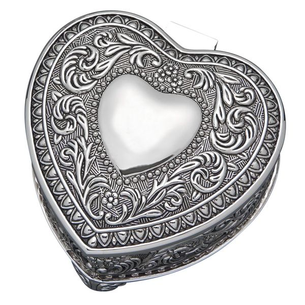 Ornate Heart Shaped Engravable Box J. Schrecker Jewelry Hopkinsville, KY