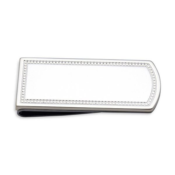 Reed & Barton Engravable Charleston Silver Plated Money Clip J. Schrecker Jewelry Hopkinsville, KY