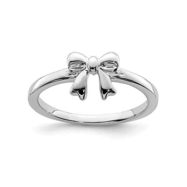 Sterling Silver Child's Bow Ring J. Schrecker Jewelry Hopkinsville, KY