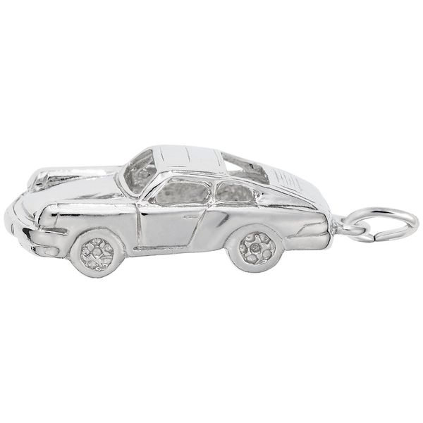 Sterling Silver Three Dimensional 911 Coupe German Sports Car Charm J. Schrecker Jewelry Hopkinsville, KY