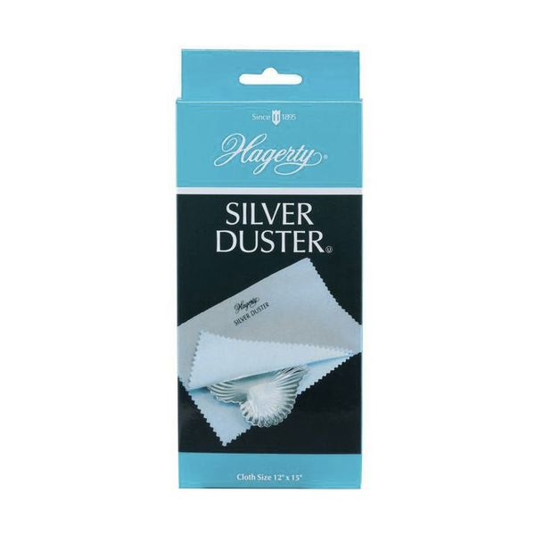 Hagerty Silver Duster Polishing Cloth J. Schrecker Jewelry Hopkinsville, KY