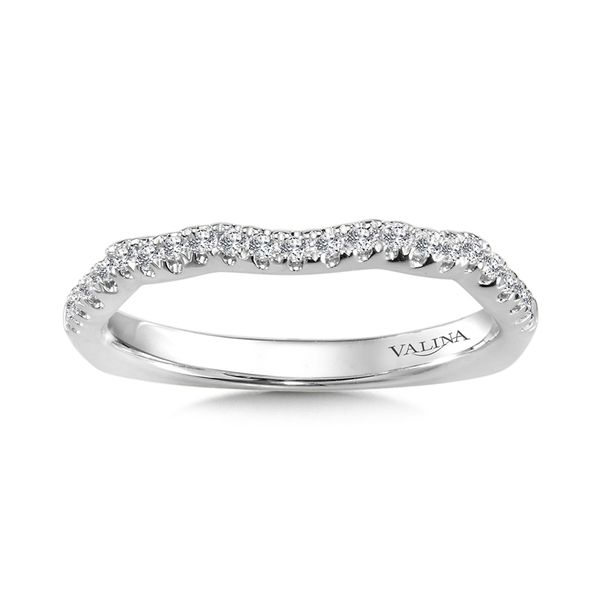 Valina Bridal Curved Diamond Band J. Thomas Jewelers Rochester Hills, MI