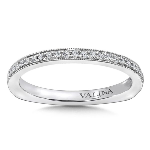 Milgrain Valina Diamond Band J. Thomas Jewelers Rochester Hills, MI