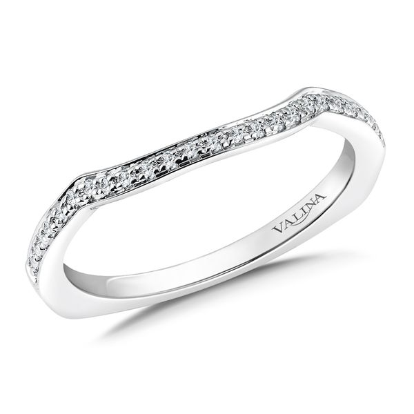 Valina Curved Diamond Band J. Thomas Jewelers Rochester Hills, MI