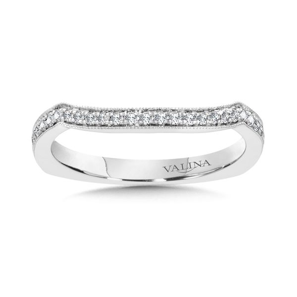 True Fit Curved Diamond Band J. Thomas Jewelers Rochester Hills, MI