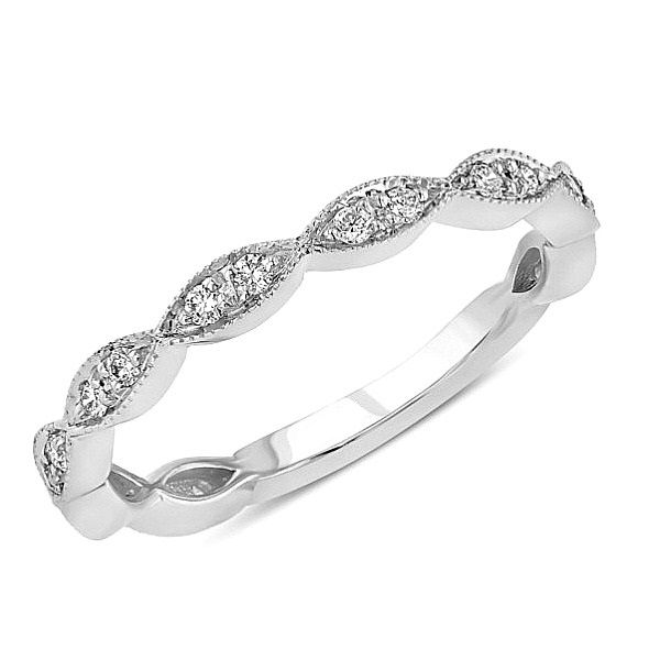 Marquise Design Diamond Band J. Thomas Jewelers Rochester Hills, MI