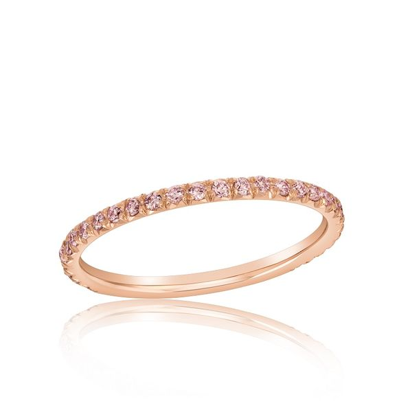 Natural Pink Diamond Stackable J. Thomas Jewelers Rochester Hills, MI