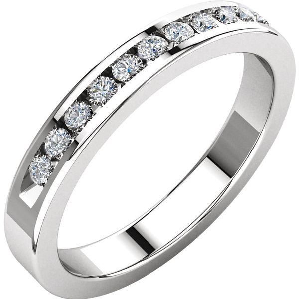 Channel Set Diamond Band J. Thomas Jewelers Rochester Hills, MI