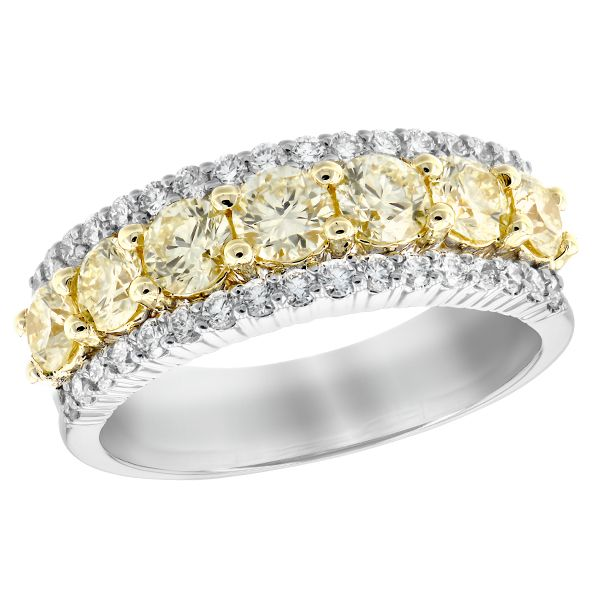 1.64Tw Yellow Diamond Ring J. Thomas Jewelers Rochester Hills, MI
