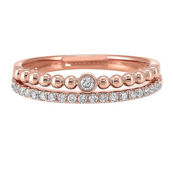 Rose Gold Stackable Style Ring J. Thomas Jewelers Rochester Hills, MI