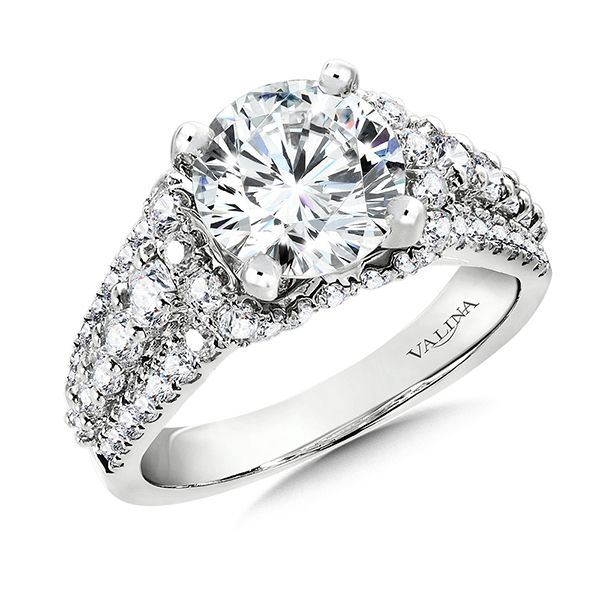 Valina Luxurious Diamond Engagement Ring J. Thomas Jewelers Rochester Hills, MI