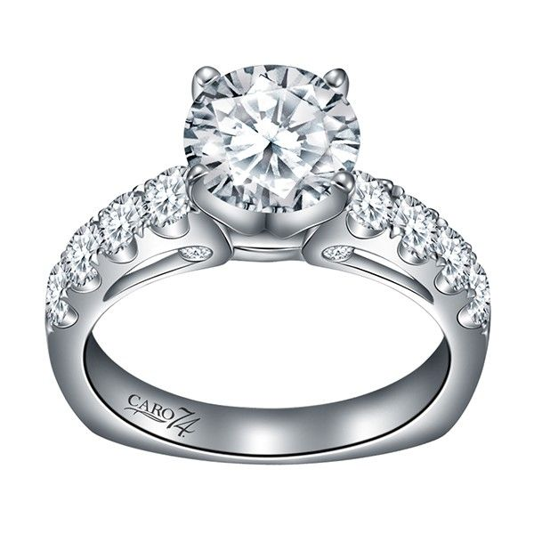 Caro74 Diamond Engagement Ring J. Thomas Jewelers Rochester Hills, MI