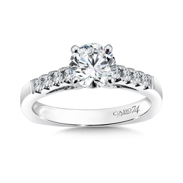 Caro74 Classic Diamond Engagement Ring J. Thomas Jewelers Rochester Hills, MI