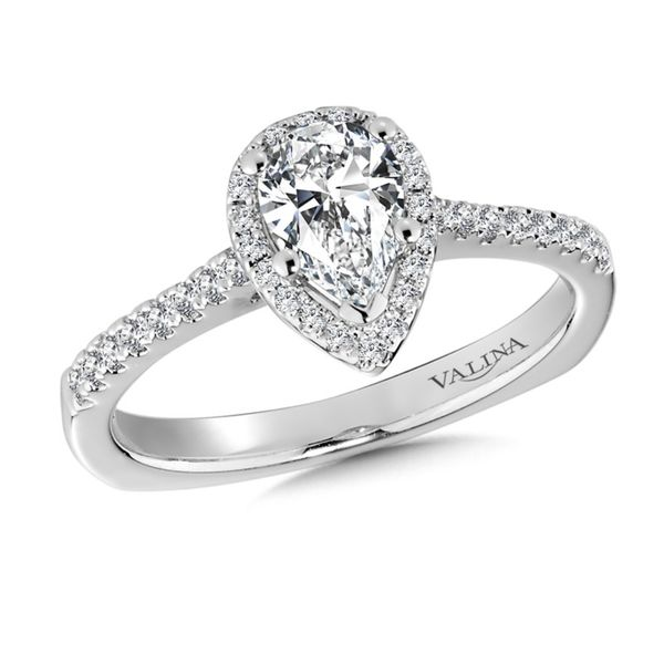 Valina Pear Diamond Ring J. Thomas Jewelers Rochester Hills, MI