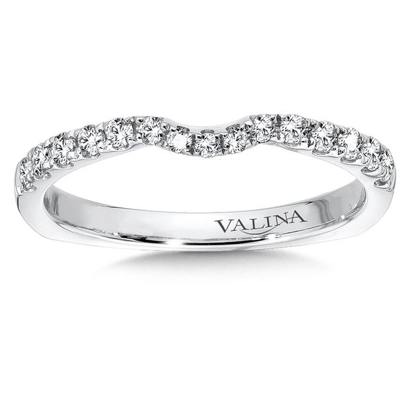 Valina Sure-Fit Curved Diamond Band J. Thomas Jewelers Rochester Hills, MI