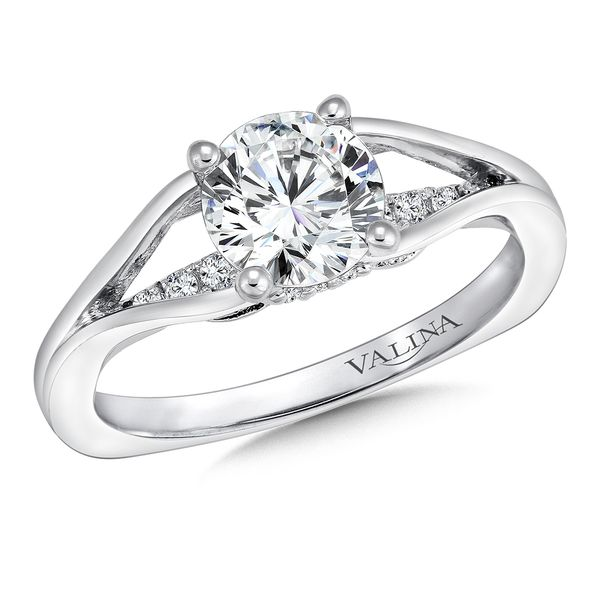 Valina Dramatic Cathedral Diamond Ring J. Thomas Jewelers Rochester Hills, MI