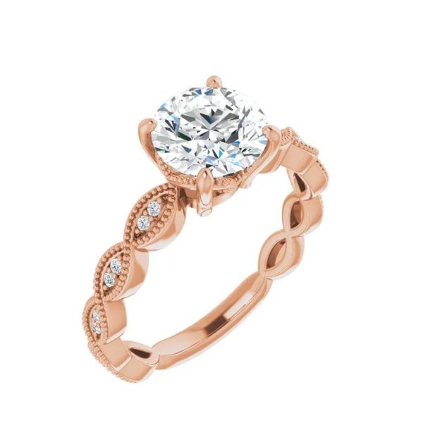 Infinity-Inspired Engagement Ring J. Thomas Jewelers Rochester Hills, MI