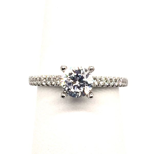 0.23Tw Diamond Engagement Ring J. Thomas Jewelers Rochester Hills, MI