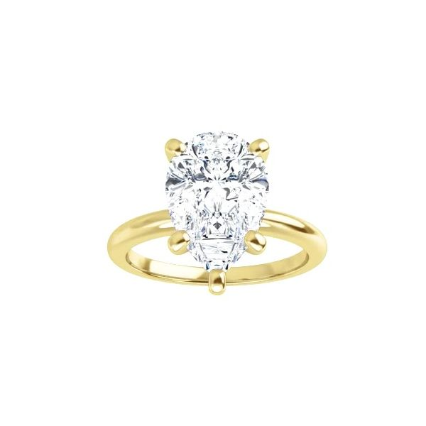 2.00 Carat Yellow Gold Solitaire J. Thomas Jewelers Rochester Hills, MI
