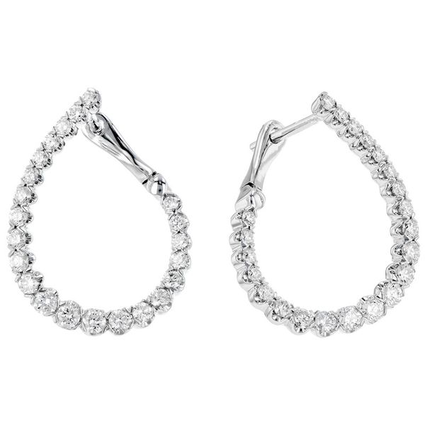 Diamond Inside Out Earrings J. Thomas Jewelers Rochester Hills, MI